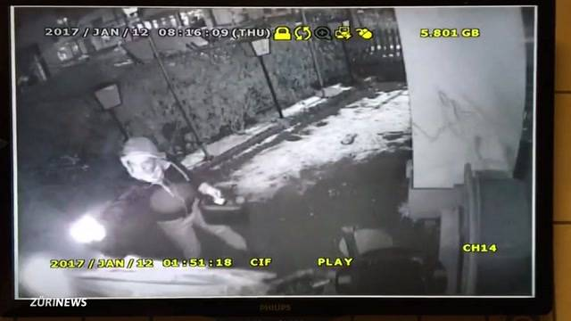 Polizei sucht Bülach-Brandstifter per Video