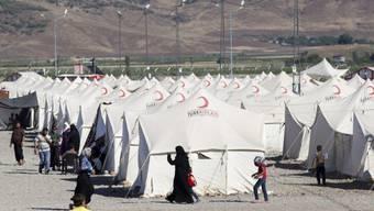 Lager für syrische Flüchtlinge im türkischen Hatay (Archiv)