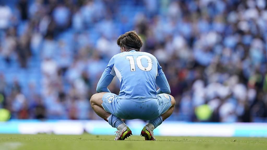 Enttäuschung für Jack Grealish und Manchester City: Nullnummer im Heimspiel gegen Southampton.