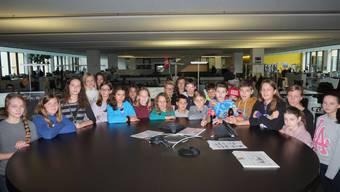 24 Schüler am Zukunftstag der AZ-Medien.