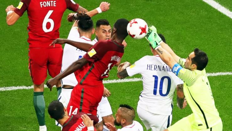 Chiles Hüter Bravo wurde weder in 120 Minuten noch im Penaltyschiessen bezwungen