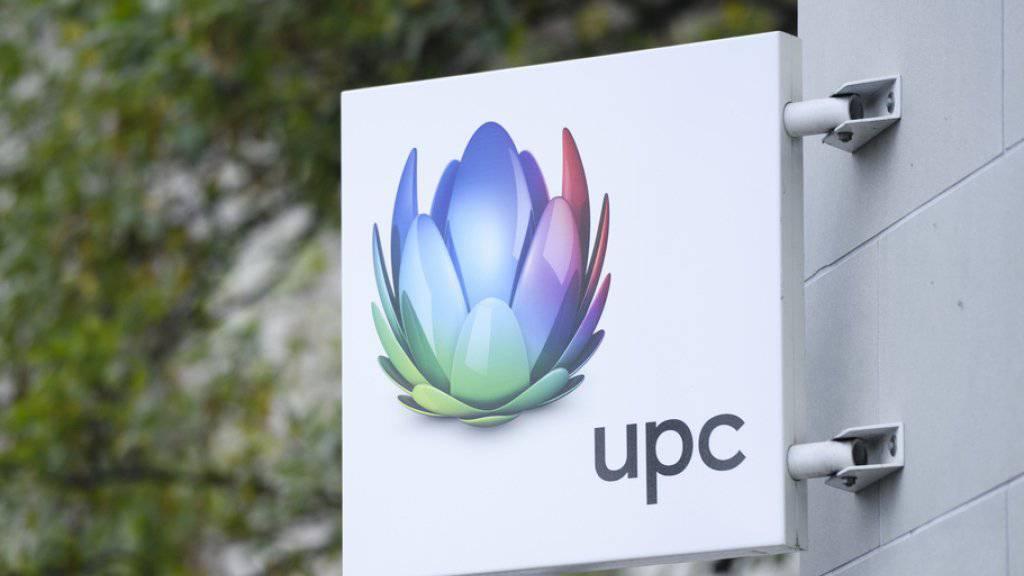Der Kabelnetzbetreiber UPC steigerte den Umsatz im dritten Quartal leicht.