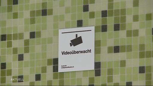 Aargauer Polizei kontrolliert Versammlungsverbot mit Überwachungskameras