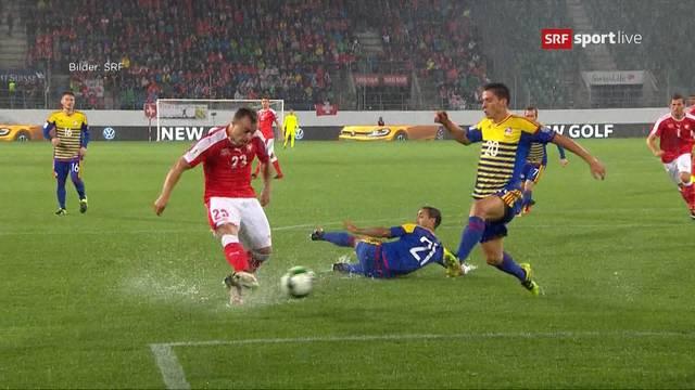 Triumph im Sumpf: Schweizer Nati watet näher an WM 2018