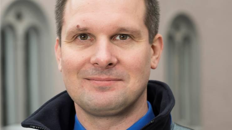Andreas Lang, Kommandant der Stadtpolizei Baden.