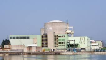 Das Atomkraftwerk Beznau I und II mit den beiden Reaktorblöcken (Archiv)