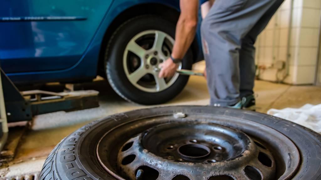 Reifen wechsel