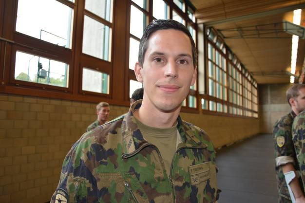 «Die Militärzeit war schön. Ich bin viel herumgekommen, habe viel gesehen und spannende Sachen erlebt.»
