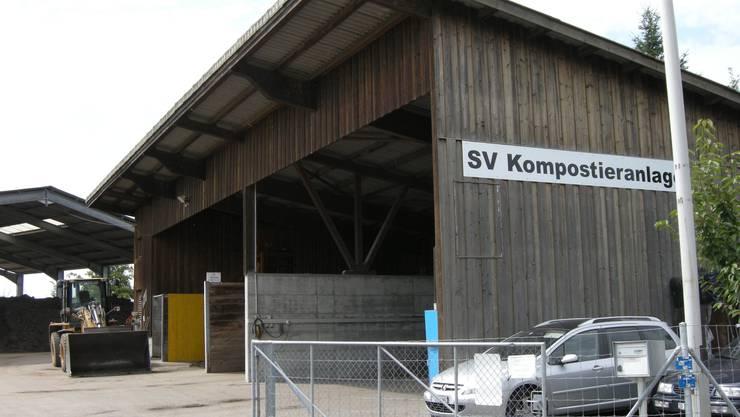 Auf der SV Kompostieranlage an der Gländstrasse in Bellach wurde der grausige Fund gemacht