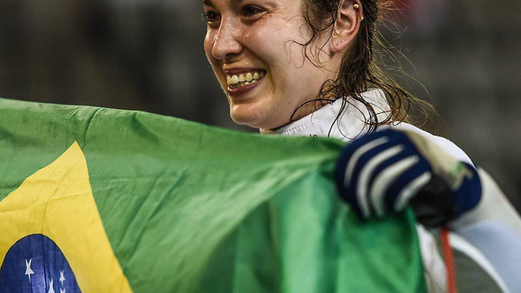 Degenfechterin Tiffany Géroudet wird nach den Olympischen Spielen in Rio de Janeiro ihre Karriere beenden