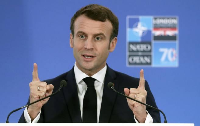 Emmanuel Macron, Präsident Frankreichs.