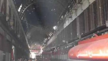 Feuer in Damaskus zerstört dutzende Läden auf einem historischen Markt