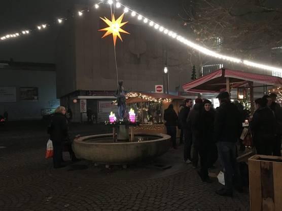 Der Weihnachtsmarkt in Aarau soll dieses Jahr noch grösser werden.