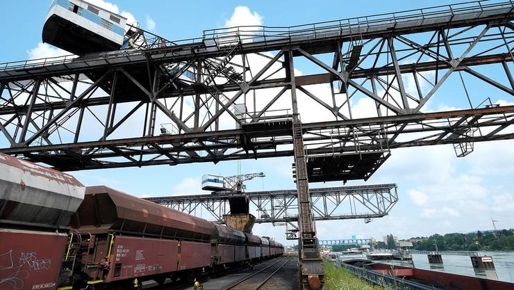 Das Hafenbecken3 soll 111Millionen Franken kosten. Daran kann sich der Bund mit maximal 50Prozent beteiligen.