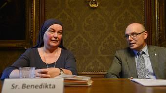 Schwester Benedikta führt das Amt von Verena Dubacher weiter
