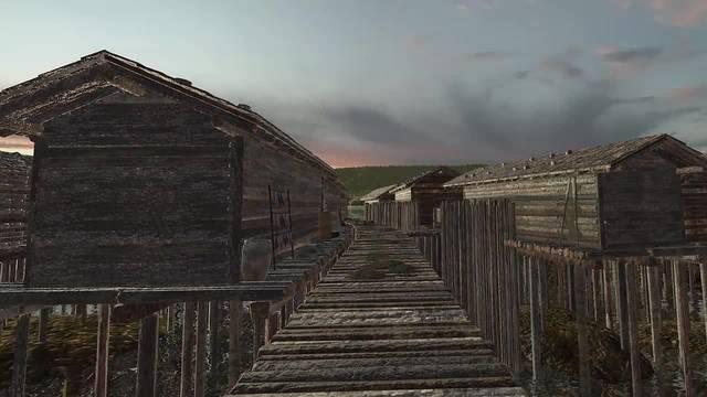 Der virtueller Rundgang durch das Pfahlbaudorf