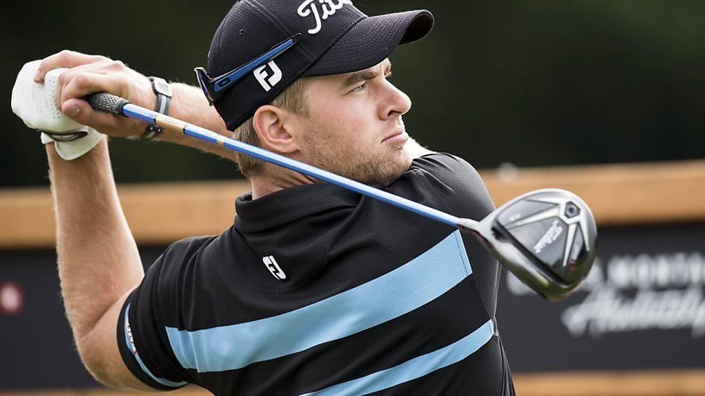 Die neue Hoffnung im Schweizer Golf heisst Mathias Eggenberger