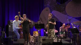 Masada Quartet in Willisau mit Greg Cohen, Dave Douglas, John Zorn und Joey Baron (von links).Marcel Meier