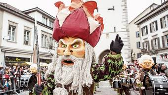 Der Fasnachtsumzug in Baden wird am Sonntag wieder Tausende Schaulustige anlocken.