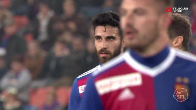 Super League, 2018/19, 13. Runde FC Basel - Lugano 3:2 Ricky van Wolfswinkel