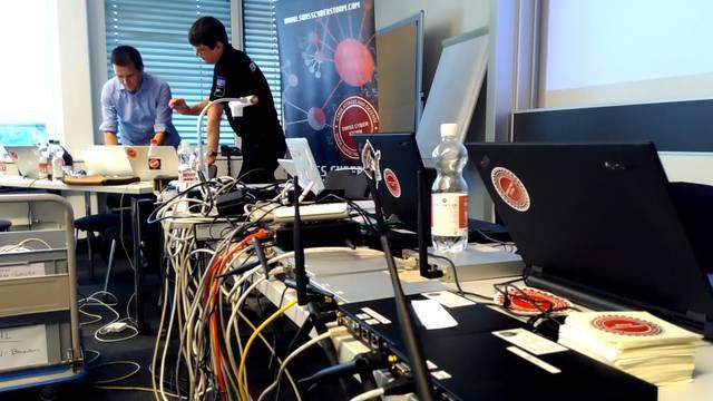 Hacker unter sich: Der Schweizer Final der European Cyber Security Challenge in Sursee.