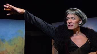 Stella Luna Palino spielt Frauenrollen aus den Dramen von William Shakespeare. Reto Landendörfer