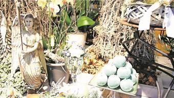 Dekoration für die Weihnachtszeit aus dem Blumengeschäft Leuenberger