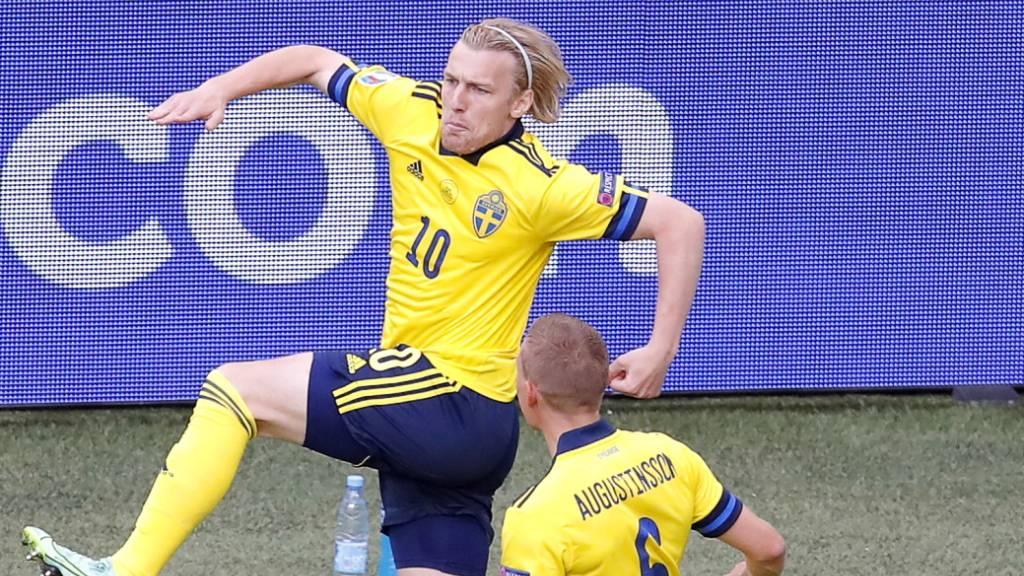 Schweden erzielt das zweitschnellste Tor der EM-Geschichte