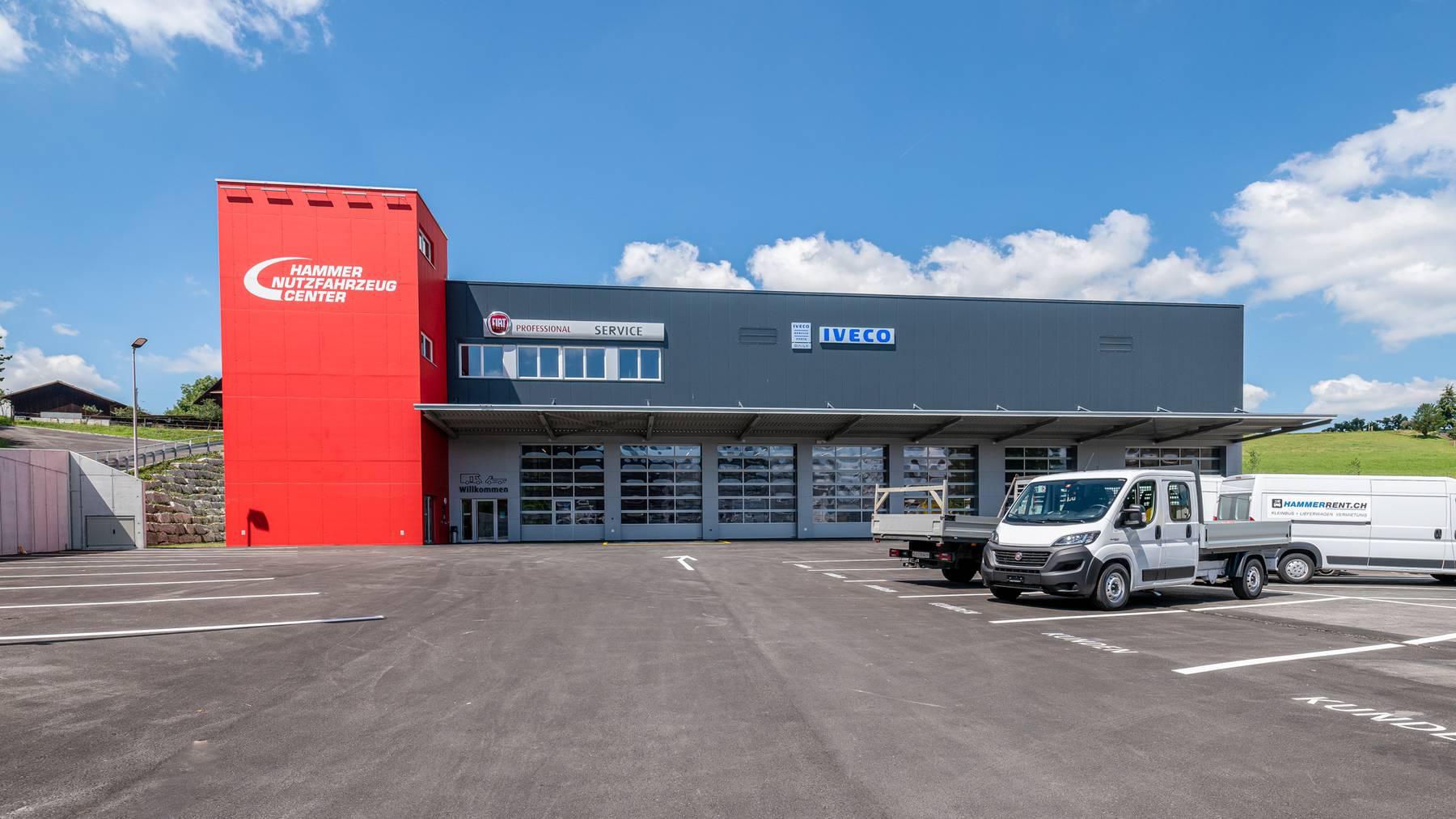 Das neue Hammer Nutzfahrzeug Center