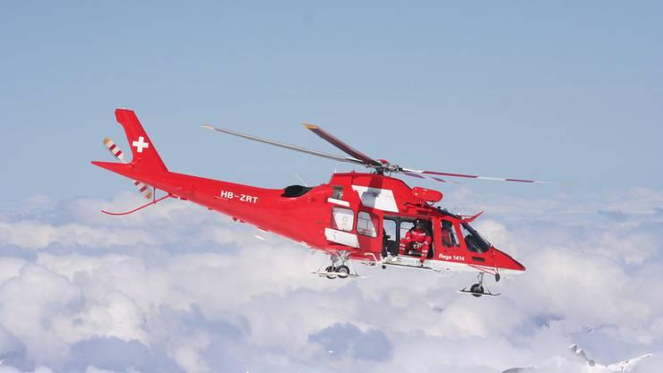 1540 Einsätze wegen Wintersportunfällen: Viel zu tun für die Rega.