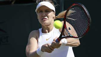 Die Kanadierin Eugenie Bouchard ist am WTA-Turnier in Gstaad am Start