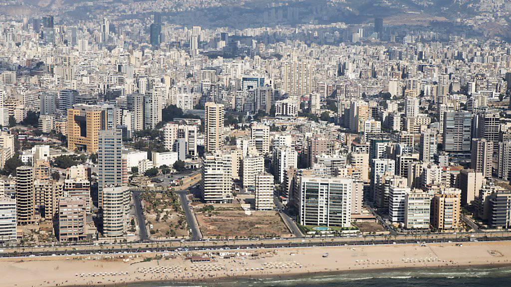 Im Süden der libanesischen Hauptstadt Beirut kam es in der Nacht auf Sonntag zu einer heftigen Explosion. (Archivbild)