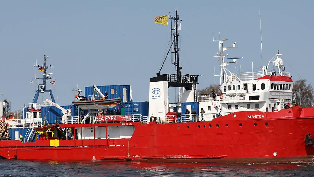 Seenotretterschiff «Sea-Eye 4» in Palermo festgesetzt