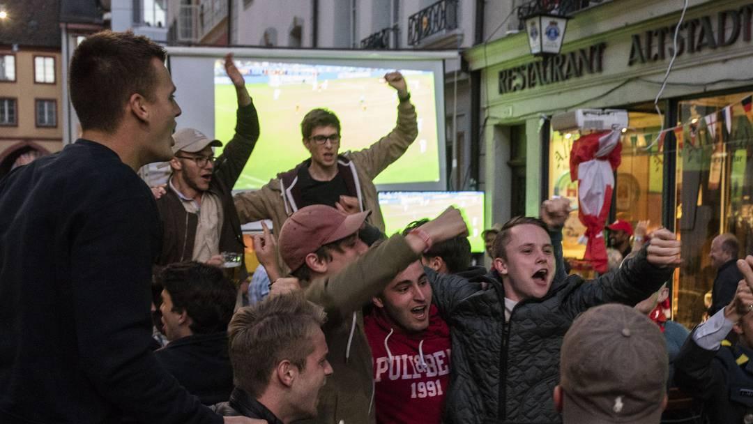 Fans in Aarau