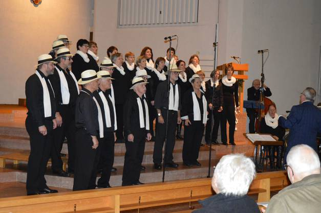 Zum Abschluss des 10 Jahre – Jubiläums gelingt den Freaktal Singers in der römisch-katholischen Kirche Sankt Peter und Paul in Sulz am vergangenen Adventsonntagabend ein Christmas Jazz Konzert vom Feinsten. Symphonisch,melodisch, rhythmisch – eine Mischung, die das grosse Publikum erlebt hat.