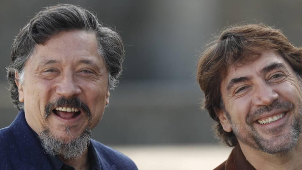 Die Schauspieler, Umweltaktivisten und Brüder Carlos (links) und Javier Bardem besuchen am Donnerstagabend das Zurich Film Festival und präsentieren ihren neuen Film «Sanctuary».