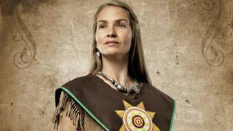 Sandra Sieber spielt im «Ölprinz» eine Indianerfrau.