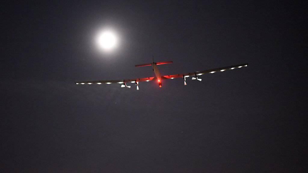 Bald geht es weiter: In der Nacht zum Dienstag hebt die Solar Impulse ab und macht sich auf den Weg nach New York. (Archiv)
