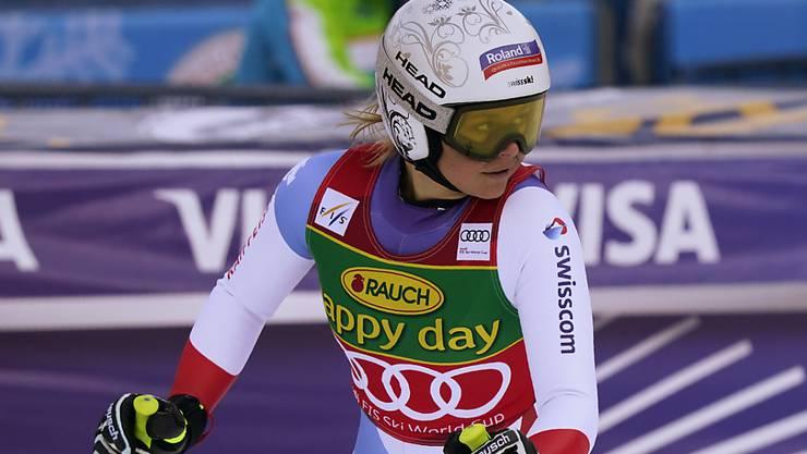 Corinne Suter will in Garmisch auf das Abfahrts-Podest.