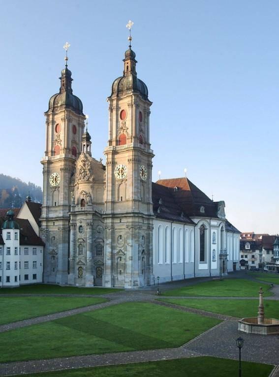 Die Kathedrale ist das bekannteste Wahrzeichen der Stadt St.Gallen. (© Keystone)