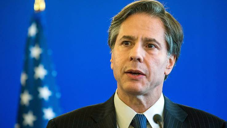 Diplomat, Journalist, Dozent: Antony Blinken. Foto: Jens Büttner/dpa