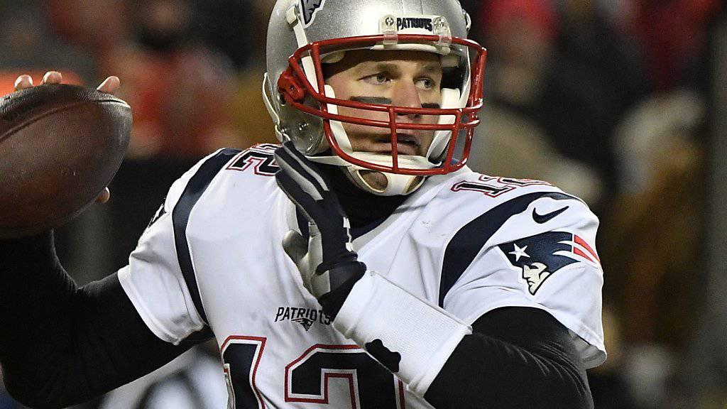 Im entscheidenden Moment wieder einmal eiskalt: Patriots-Quarterback Tom Brady