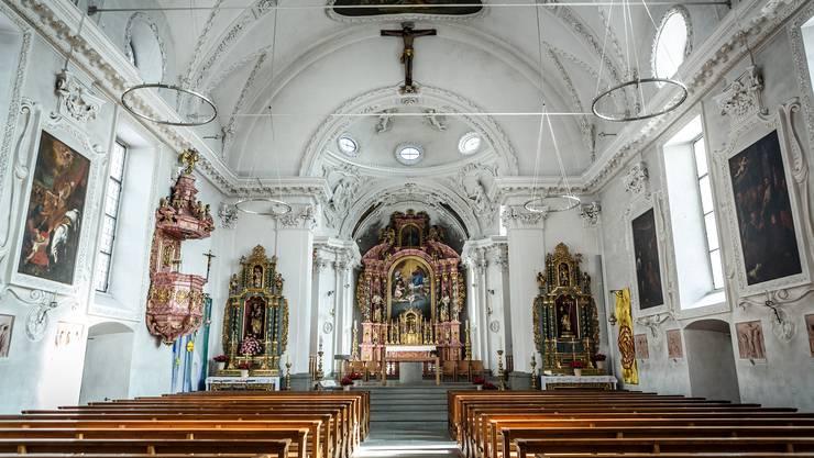 Prächtig: Die Kirche von Bürglen.