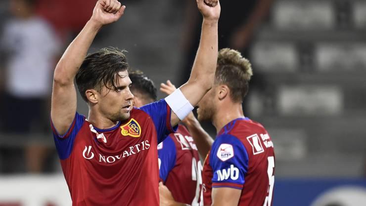 Es ist angerichtet: Mit einem 4:1-Sieg über Sion startet der FC Basel in die neue Saison.