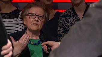 Lawine losgetreten: Mit einer Zwischenbemerkung in der «Arena» machte Beatrix Grüter die Händedruck-Verweigerung von Therwil zu einem nationalen Thema.