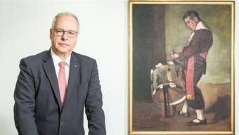 «Basel ist für uns nach wie vor zentral», sagt Andreas Burckhardt, Verwaltungsratspräsident der Bâloise-Gruppe am Hauptsitz am Aeschengraben.