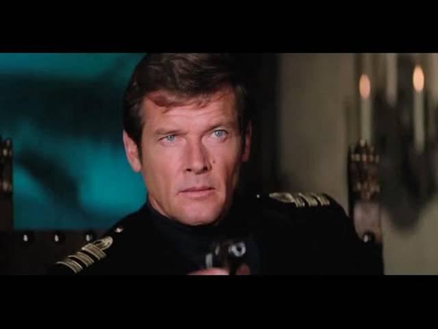 7 Mal 007: Roger Moore in seiner Rolle als James Bond