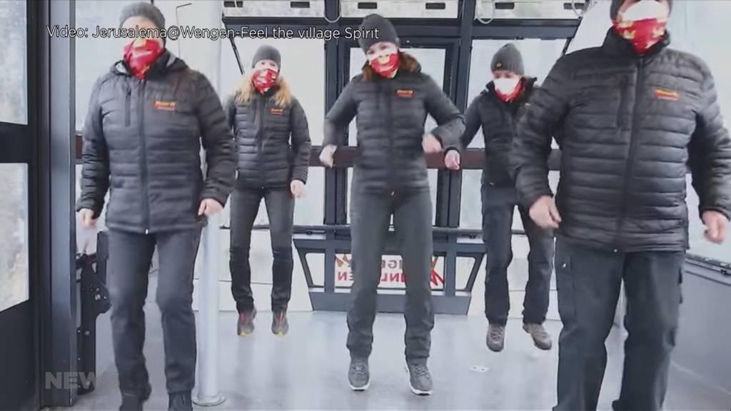 Wengen veröffentlicht «Jerusalema»-Video: Song nähert sich dem Schweizer Rekord