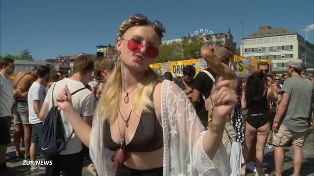 Das sind die schrillsten und freizügigsten Outfits der Street Parade 2018