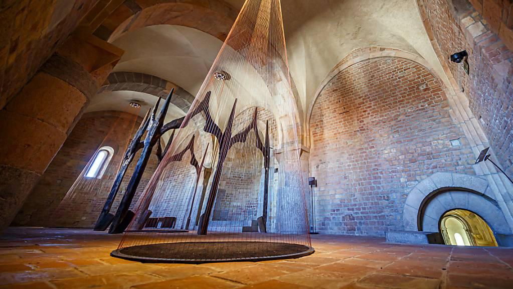Die Abteikirche von Payerne VD ist ab Samstag wieder für das Publikum offen.